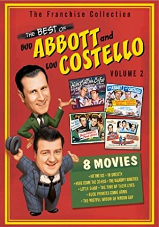 Abbot and Costello Vol. 2 cover