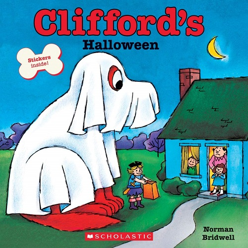 Clifford's Halloween cover