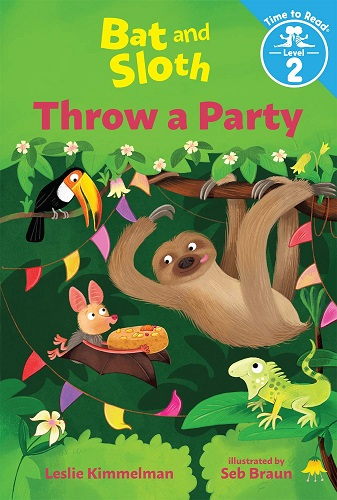 Bat and SLoth Throw a Party cover