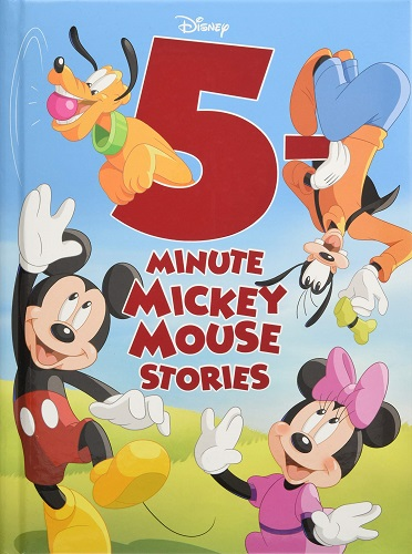 5 Minute Mickey Mouse Stories cover