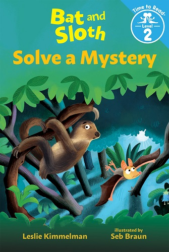 Bat and Sloth Solve a Mystery cover