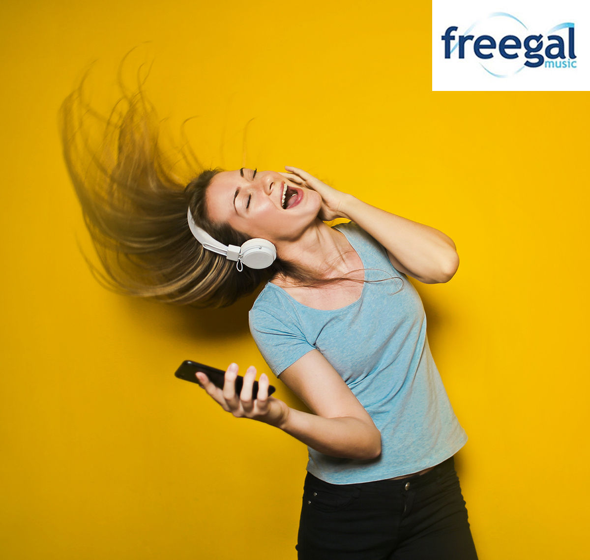 Listen to music for free with the Freegal app image